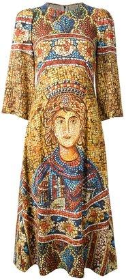 Dolce & Gabbana printed dress
