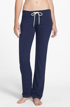 Monrow Vintage Heather Fleece Sweatpants