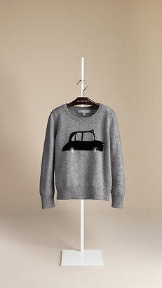 Burberry Taxi Cashmere Blend Sweater