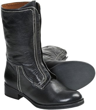 Gentle Souls Pod Mix Boots - Leather, Front Zip (For Women)