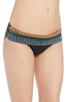 Nanette Lepore Women's Mayan Riveria Dreamer Bikini Bottom