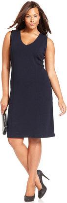 Jones New York Collection Plus Size Dress, Sleeveless Sheath