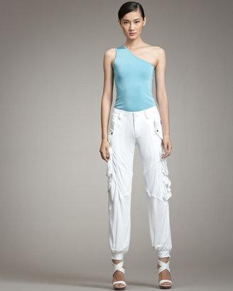 Ralph Lauren Black Label Halsey Jersey Cargo Pants