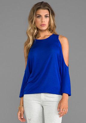 Blue Life Open Shoulder New Trendsetter Top