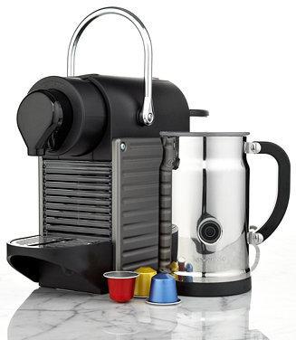 Nespresso AC60USTINE Espresso Maker, Pixie Bundle