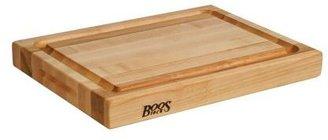 "John Boos & Co.® Maple Edge-Grain Cutting Board with Deep Groove, 20"" x 15"" x 21⁄4"""