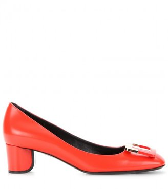 Roger Vivier Decollete U Laque leather pumps