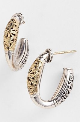 Women's Konstantino 'Classics' Two-Tone Hoop Earrings $490 thestylecure.com