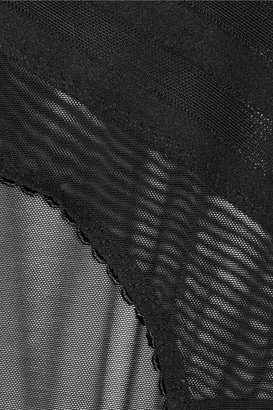 Stella McCartney Caroline Wriggling mesh briefs
