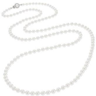Nadri Faux Pearl Opera Necklace