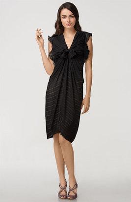 3.1 Phillip Lim Tie Front Silk Dress
