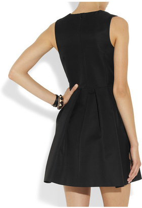 McQ by Alexander McQueen Cotton-blend twill mini dress