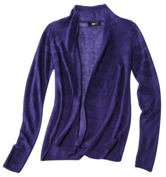 Mossimo Women's Shadow Striped Cardigan - Assorted Colors