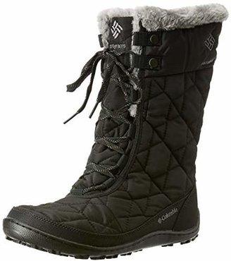 Columbia Minx Mid II Omni Heat, Women's Boots - Black (Black/Charcoal 010), 4 UK