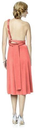 Dessy Collection - MJ-TWIST2 Dress in Ginger