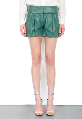Singer22 Leather Shorts - by Gabby Applegate