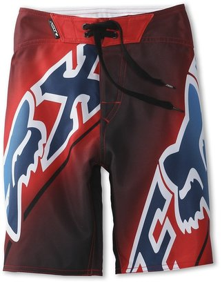 Fox Elecore Boardshort (Big Kids) (Flame Red) - Apparel