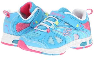 Skechers Light Ray Lighted 10267N (Toddler) (Blue/Multi) - Footwear