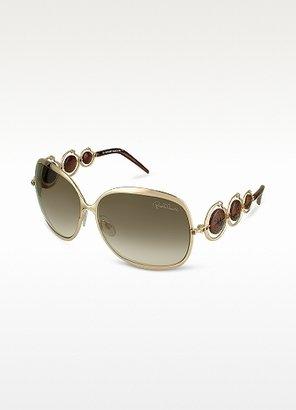 Roberto Cavalli Corallo - Logo Discs Metal Sunglasses
