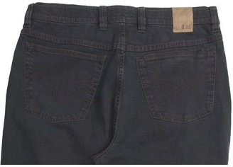 Hiltl Stonewashed Overdyed Jeans - Slub Stretch Cotton (For Men)