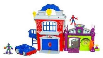 Spiderman playskool crime fighting headquarters