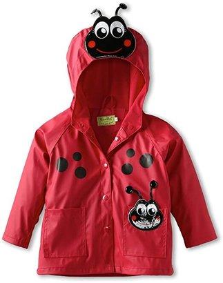 Western Chief Ladybug Raincoat (Toddler/Little Kids) (Red) Girl's Coat