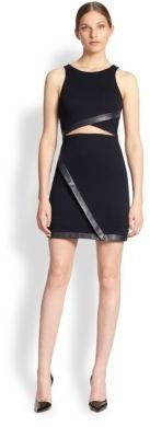 Bailey 44 Cut-Out Jersey Sheath Dress