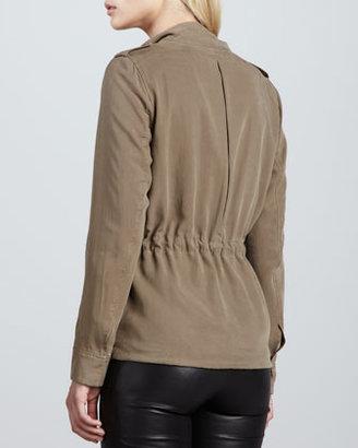 Soft Joie Brady Button-Front Blouse