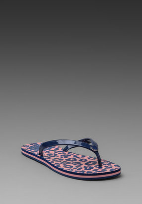 Marc by Marc Jacobs Rita the Cheetah Rubber Print Flip Flop