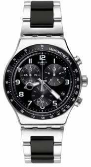 Swatch Speed Up Chronograph Stainless Steel Strap Watch