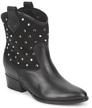 Alberto Gozzi GIANNA women's Mid Boots in Black