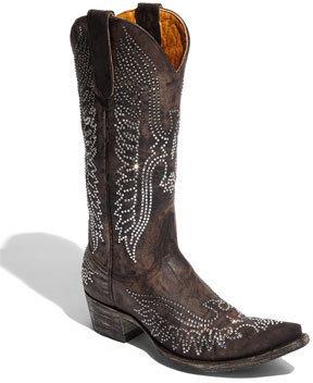 Old Gringo 'Eagle Swarovski' Boot