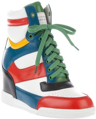 Marc by Marc Jacobs Hi-top wedge trainer