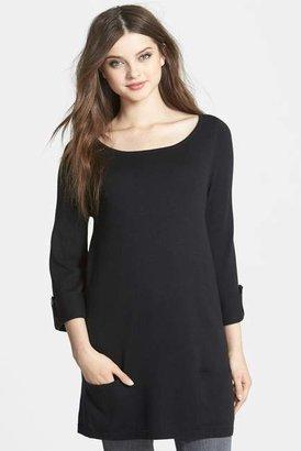 Caslon Knit Tunic (Petite) $69 thestylecure.com