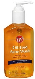 Walgreens Oil-Free Acne Wash