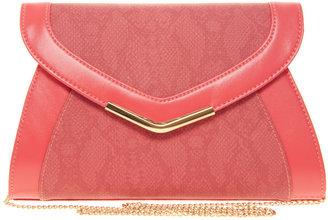 New Look Celia Color Block Envelope Clutch Bag