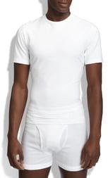 Spanx Crewneck Cotton Compression T-Shirt