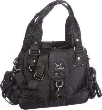 Sansibar Womens Calima Shopper Black Black Size: 44x27 5x14 cm (B x H x T)