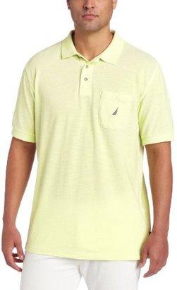Nautica Men's Uneven Oxford Polo Shirt