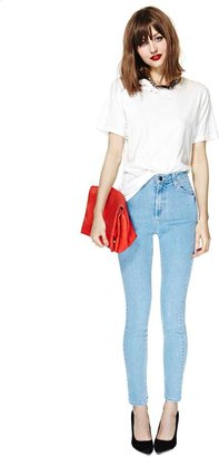 Nasty Gal Perfect Ten Skinny Jeans - Light Wash