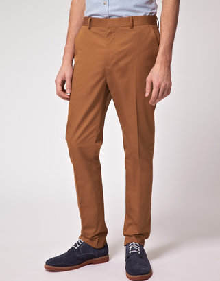 Asos Slim Fit Chino Suit Pants