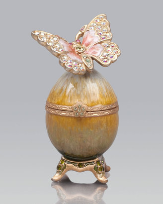 Jay Strongwater Amelie Butterfly Egg Box