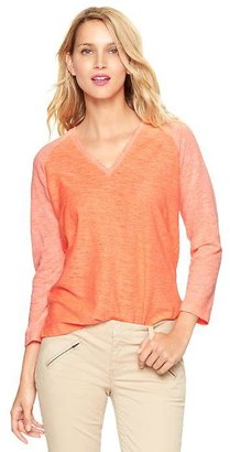 Gap Plaited jersey raglan T
