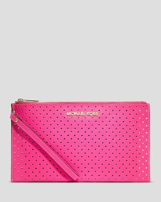 MICHAEL Michael Kors Clutch - Large Perforated