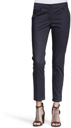 Brunello Cucinelli Long-Sleeve Half-Placket Shirt