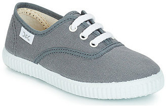 Citrouille et Compagnie KIPPI BOU girls's Shoes (Trainers) in Grey