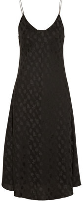 The Row Namara silk-jacquard dress