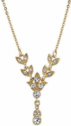 Downton Abbey Vine Y Necklace