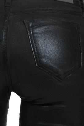 Bleu Lab Bleulab Ballet Legging in Black Lead/ Black Foil
