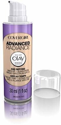 COVERGIRL Advanced Radiance Age Defying Foundation Makeup, Buff Beige 1 fl oz (30 ml) $12.99 thestylecure.com
